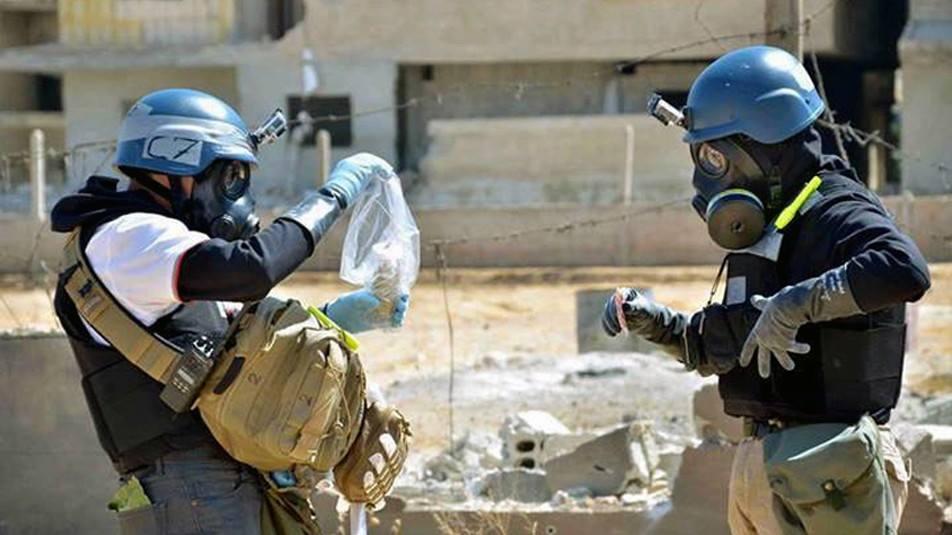 ქიმიური იარაღის აკრძალვის ორგანიზაციის წარმომადგენლები დამასკოში ჩავიდნენ