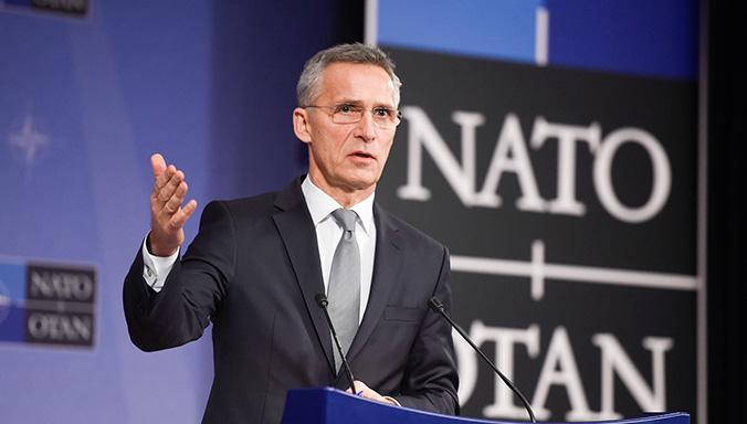NATO-ს გენერალური მდივანისირიაში განხორციელებულ ქმედებებს მხარს უჭერს