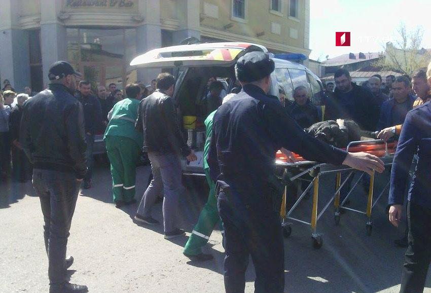 Car hits child in Akhaltsikhe