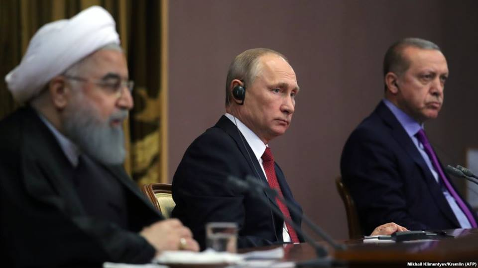 Vladimir Putin - Rusiya, Türkiyə və İran terrorçuluqla mübarizədə səylərin əlaqələndirilməsi barədə razılıq gəldilər