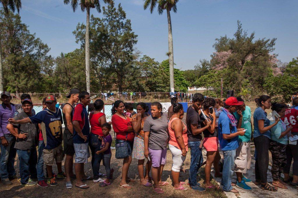 1500 мигрантов ждет депортация в Мексику