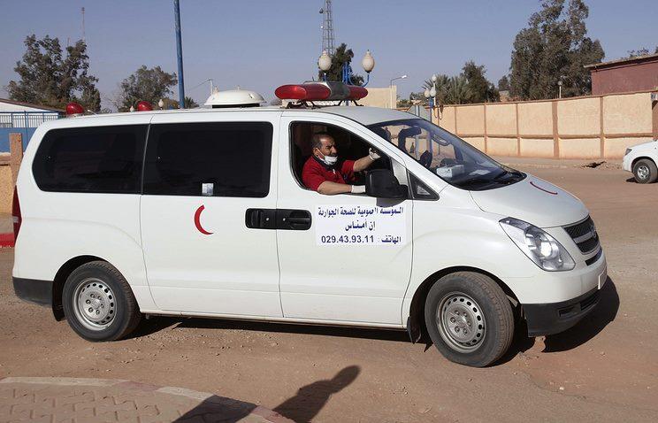 В Алжире упал военный самолет, число жертв может превысить 200 человек