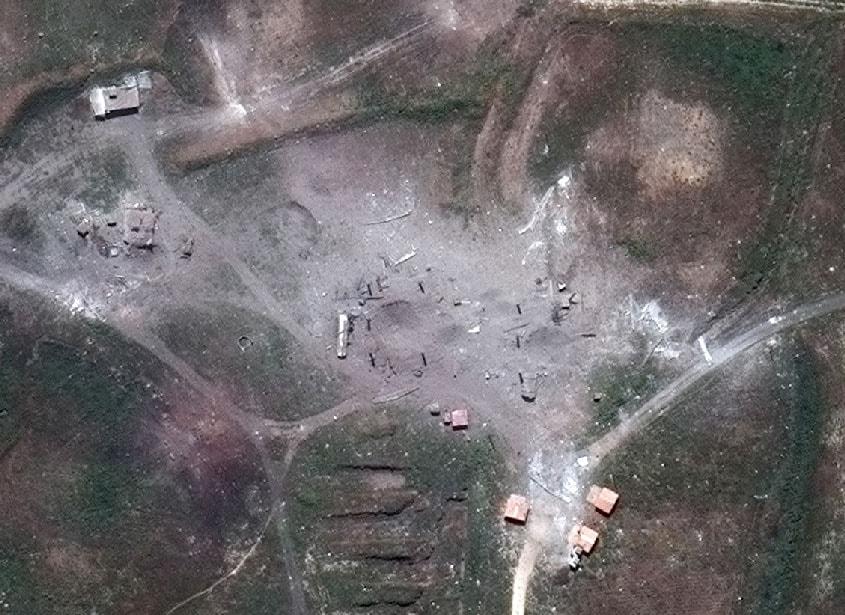 აშშ სირიაზე იერიშების ფოტო-ვიდეომასალას ავრცელებს