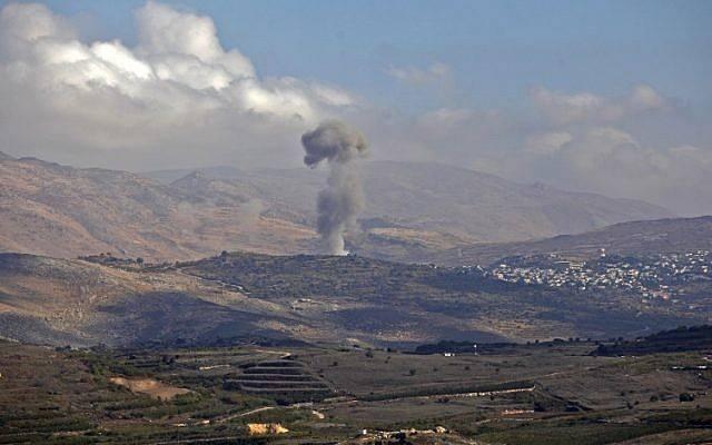 გოლანის სიმაღლეებთან ჭურვის აფეთქების შემდეგ, ისრაელის ავიაციამ სირიის არმიის პოზიციები დაბომბა