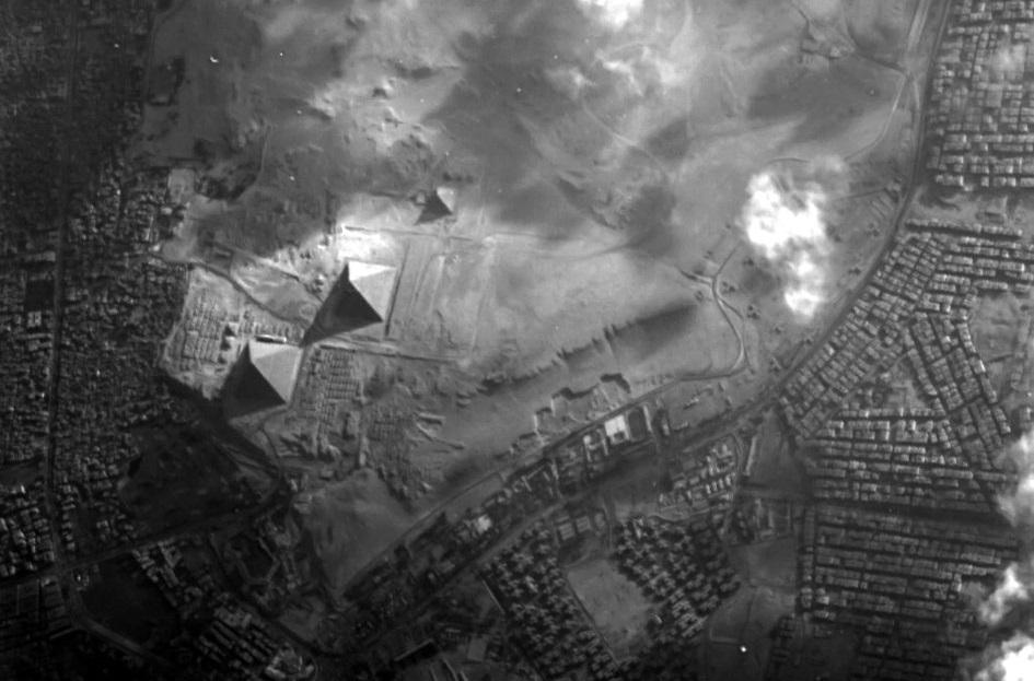 როგორ ჩანს პირამიდები კოსმოსიდან - ESA ახალ ფოტოს აქვეყნებს