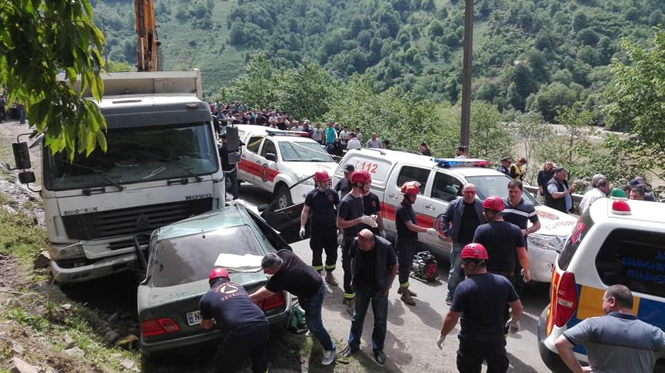 Five killed in car accident in Adjara region