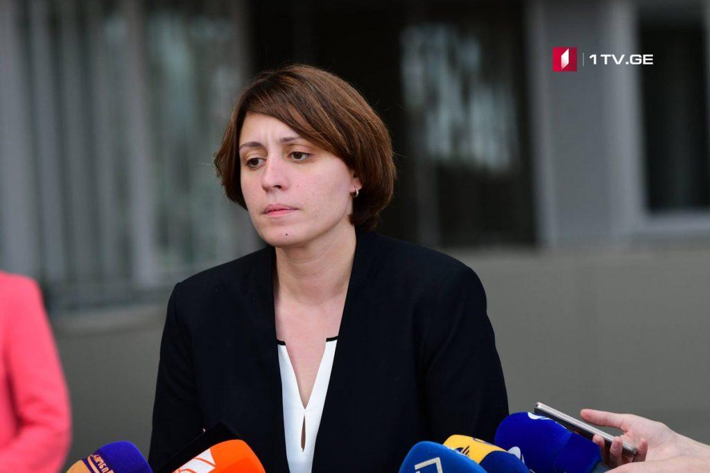 Элене Хоштария - Сегодня и завтра временная парламентская следственная комиссия допросит несовершеннолетних свидетелей