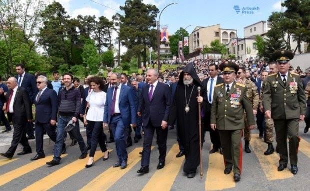 Никол Пашинян поехал в непризнанный Нагорный Карабах