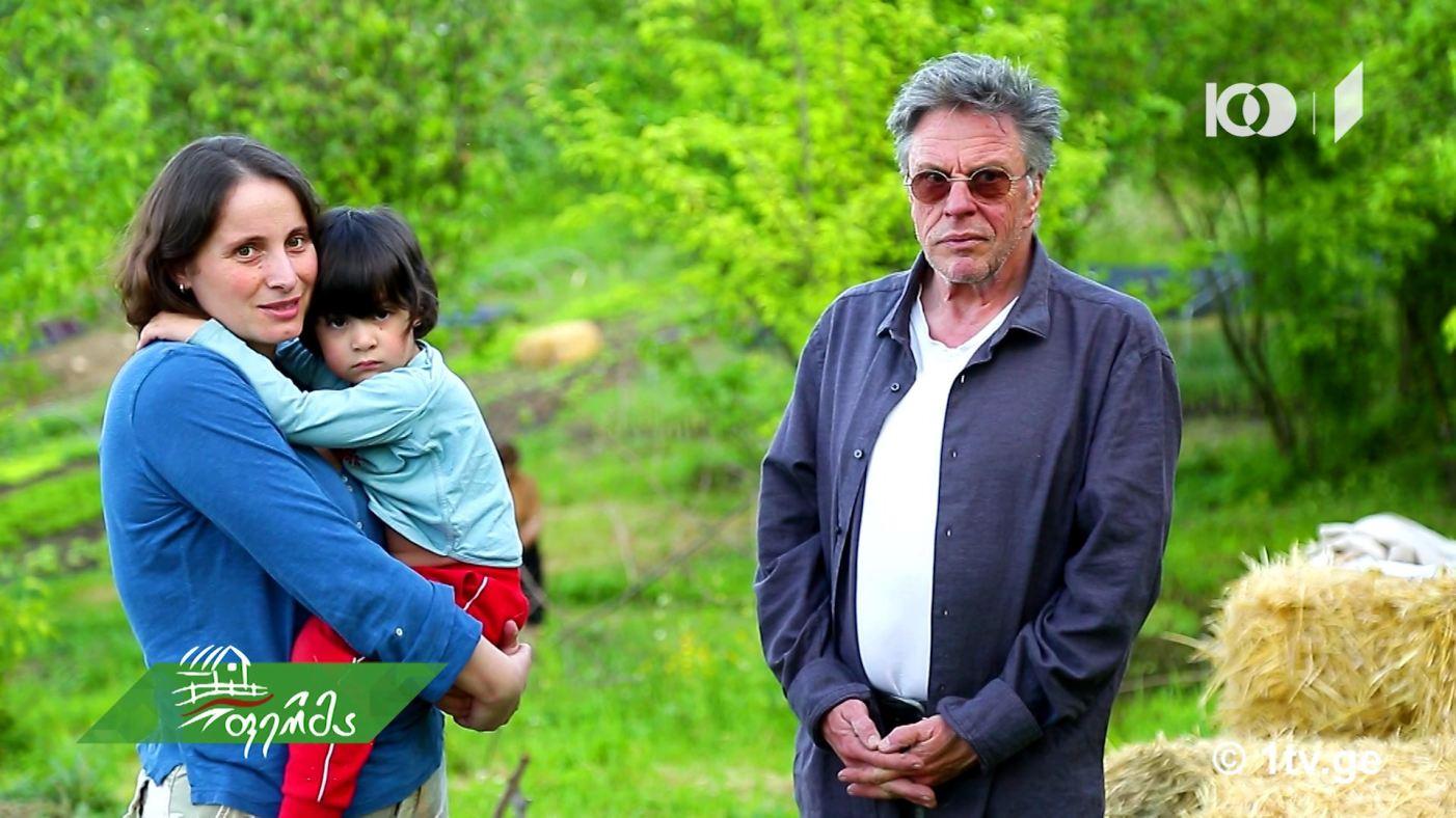 #არტიშოკი რატომ გაექცა თბილისს ბაკურციხეში, ქართულ -გერმანული ოჯახი