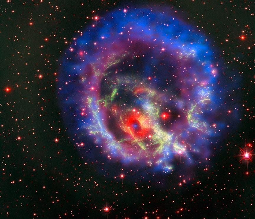 ასტრონომებმა სხვა გალაქტიკაში მდებარე ეული ნეიტრონული ვარსკვლავი აღმოაჩინეს