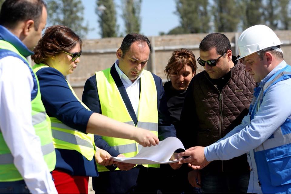 Дмитрий Кумсишвили - После завершения строительства нового терминала, возможности Кутаисского международного аэропорта увеличатся втрое