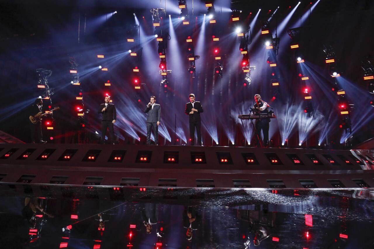 """ჯგუფმა """"ირიაომ"""" ევროვიზიის """"ალტის არენას"""" სცენაზე პირველი რეპეტიცია გაიარა [ფოტო, ვიდეო]"""