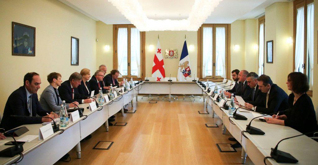 Администрация президента - Георгий Маргвелашвили обсудил с европарламентариями вопрос упразднения Совета безопасности на фоне вызовов перед Грузией