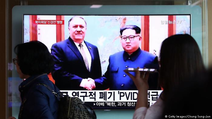 აშშ-ის სახელმწიფო მდივანი მაიკ პომპეო ჩრდილოეთ კორეაში იმყოფება