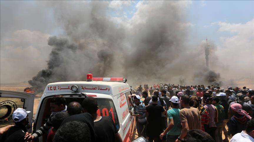 Իսրաել-Գազայի հատվածի սահմանին զոհված պաղեստինացիների թիվը հասել է 59-ի