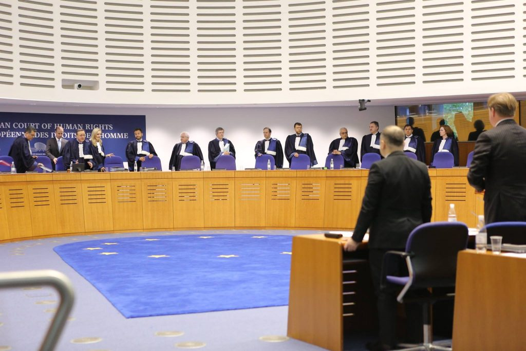 Final oral hearing into case Georgia vs. Russia in Strasbourg is over