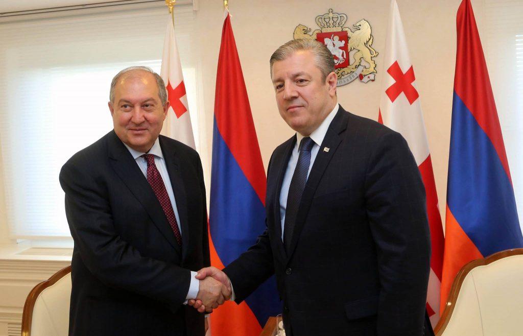 Վրաստանի վարչապետը հանդիպել է Արմեն Սարգսյանին