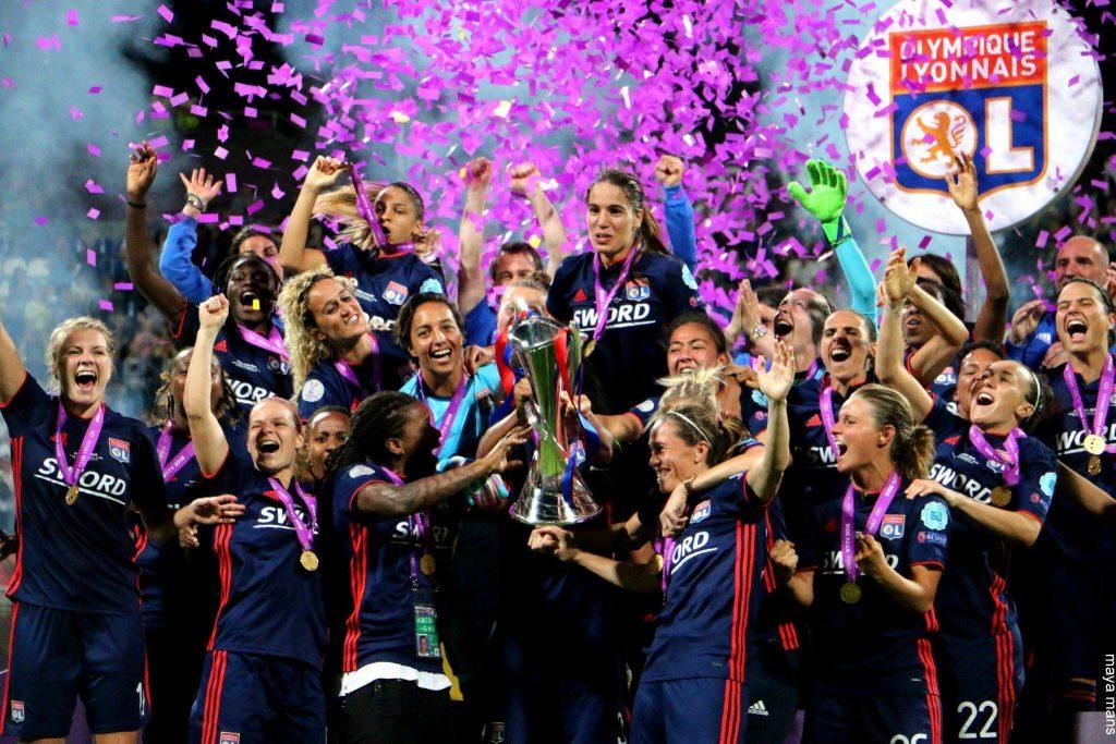 """""""ლიონმა"""" ქალთა ჩემპიონთა ლიგაზედიზედ მესამედ მოიგო"""