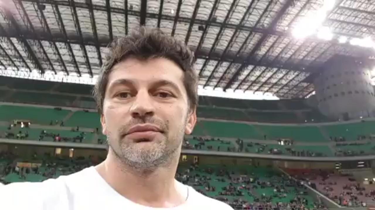 """პირლო, გატუზო, ბუფონი და ფეხბურთის სხვა ვარსკვლავები - კახა კალაძის ფეისბუქლაივი """"სან სიროდან"""" [ვიდეო]"""
