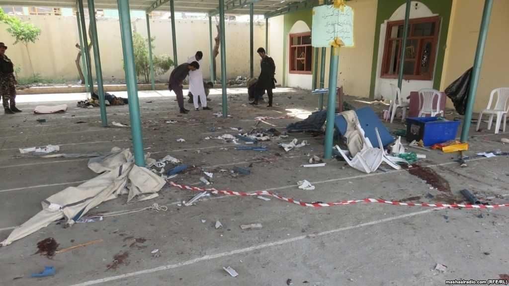 Əfqanıstanda məscid yanında baş verən partlayış nəticəsində ən azı 13 nəfər həlak oldu