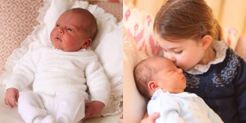 ბრიტანეთის სამეფო ოჯახმა ახალშობილი პრინცის ფოტოები გაავრცელა