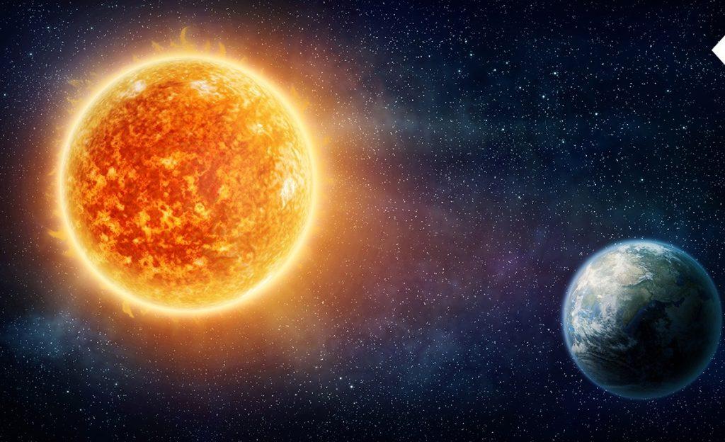 ბირთვული ბრძოლა დედამიწასა და მზეს შორის