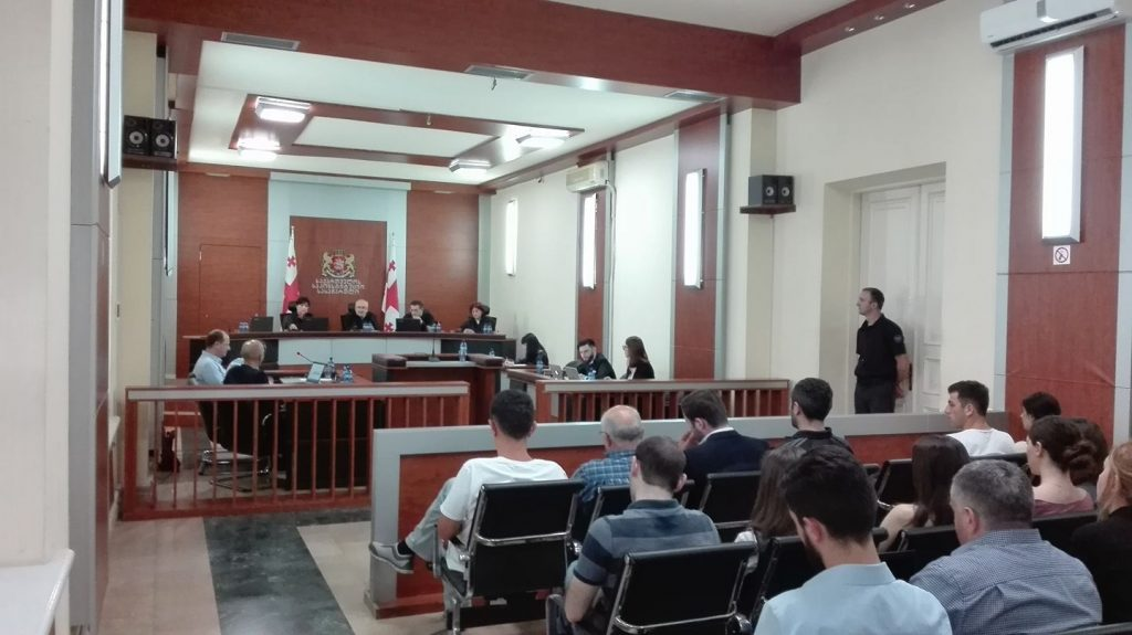 """Constitutional Court begins discussions of complaint filed by """"Girchi"""""""