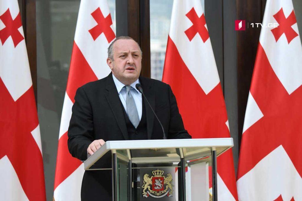 Georgian President awarded doctors