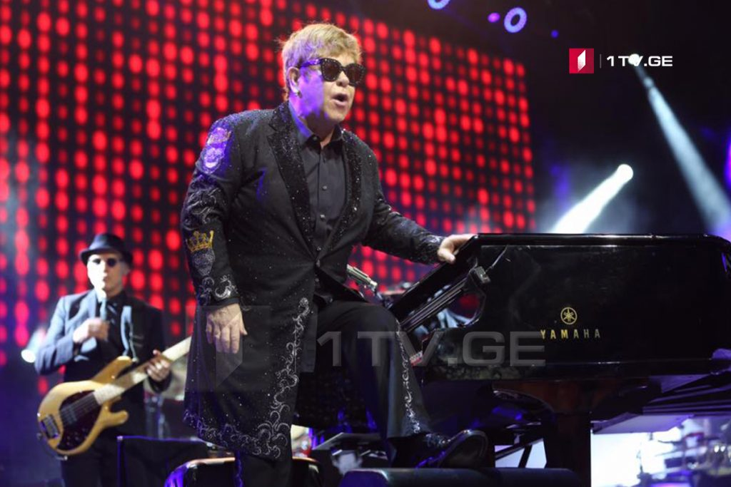 Concert of Elton John in Shekvetili [Photo/Video]