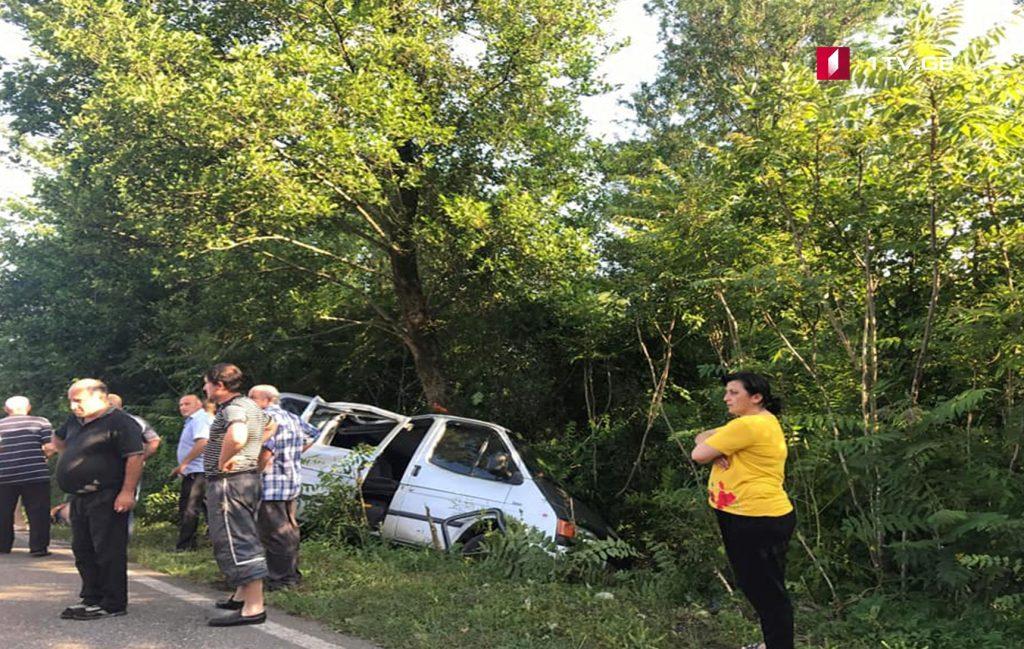 აბაშაში ავტოსაგზაო შემთხვევა მოხდა