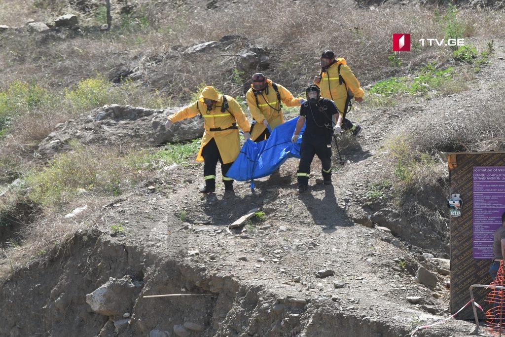 13 ივნისის სტიქიის ადგილზე მამაკაცის ცხედარი იპოვეს