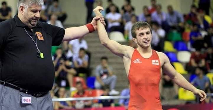 Нугзар Цурцумия стал чемпионом Европы