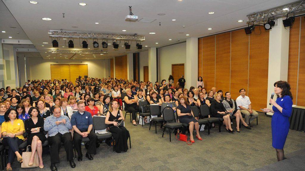 თბილისში სამოქალაქო განათლების მასწავლებლების კონფერენცია გაიმართა