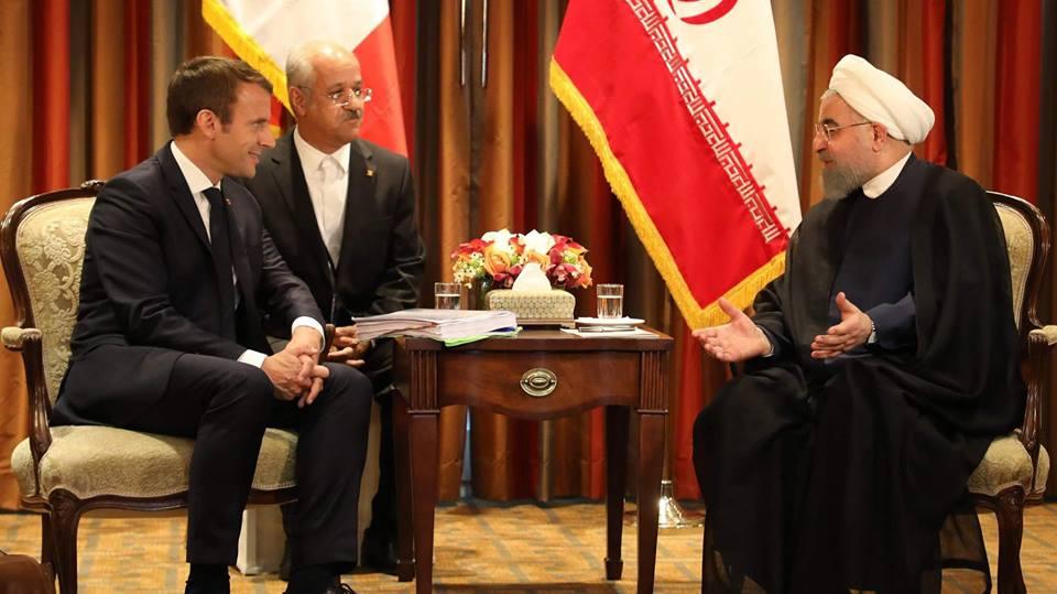 საფრანგეთისა და ირანის პრეზიდენტებმა ბირთვული შეთანხმების შესახებ ტელეფონით ისაუბრეს