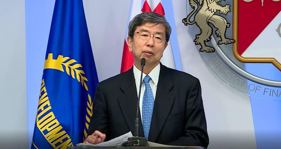 Президент Азиатского банка развития - Финансирование проектов в Грузии в 2019-2021 годах превысит 1,2 миллиарда долларов США