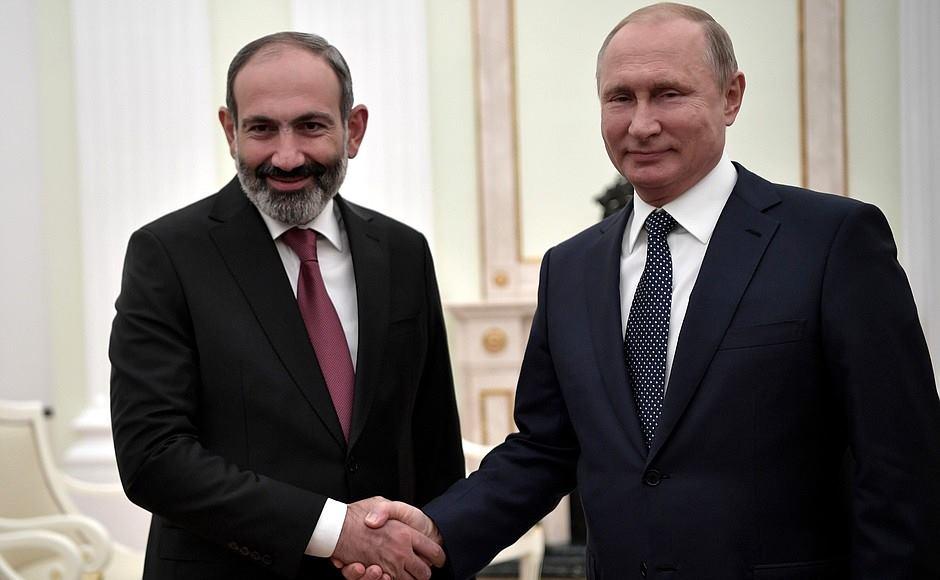 Никол Пашинян - Владимир Путин познакомил меня с президентом Азербайджана