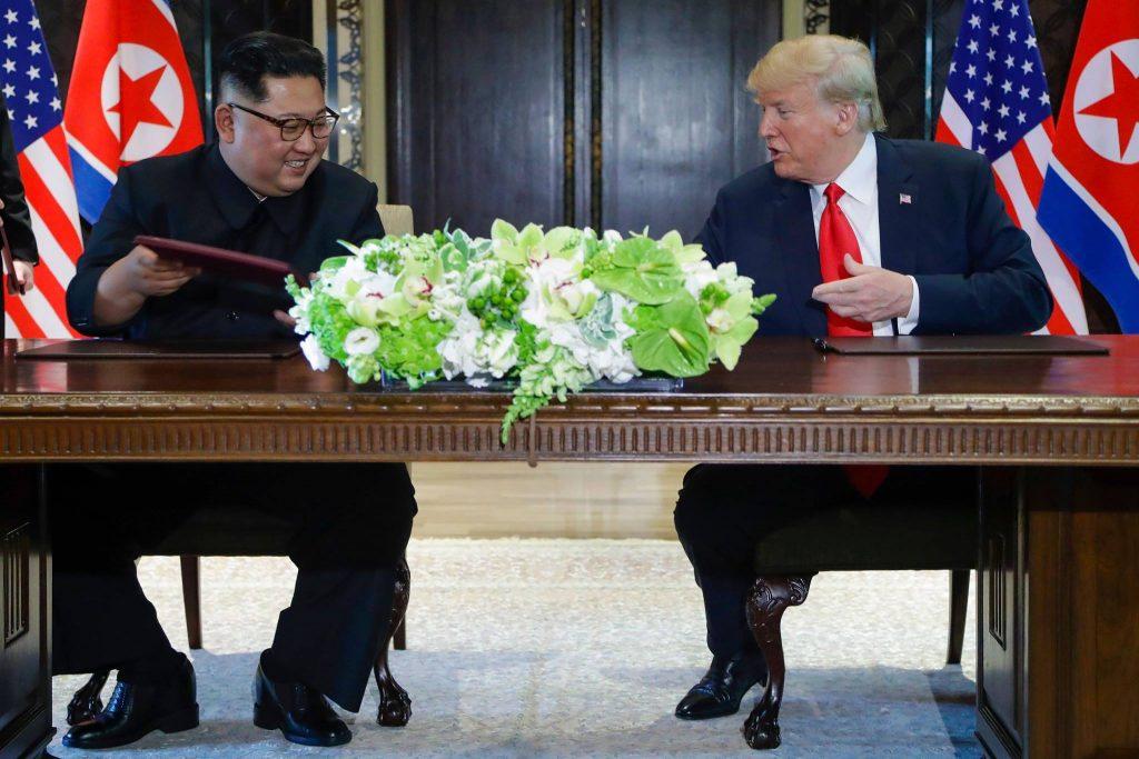 დონალდ ტრამპი - ჩრდილოეთ კორეამ ბირთვული განიარაღება უკვე დაიწყო