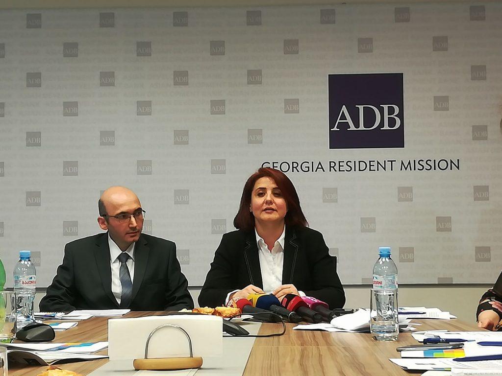 Азиатский банк развития - В 2019 году экономика Грузии вырастет на 4,7 процента