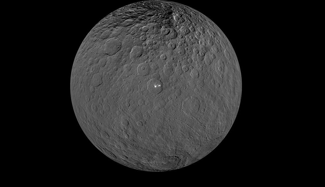 ჯუჯა პლანეტა ცერერაზე იმაზე მეტი ორგანული მოლეკულაა, ვიდრე მეცნიერებს ეგონათ