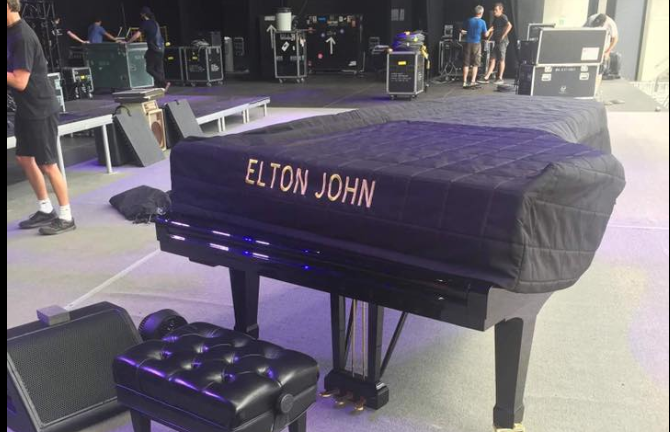 Concert of Elton John to be held at Black Sea Arena