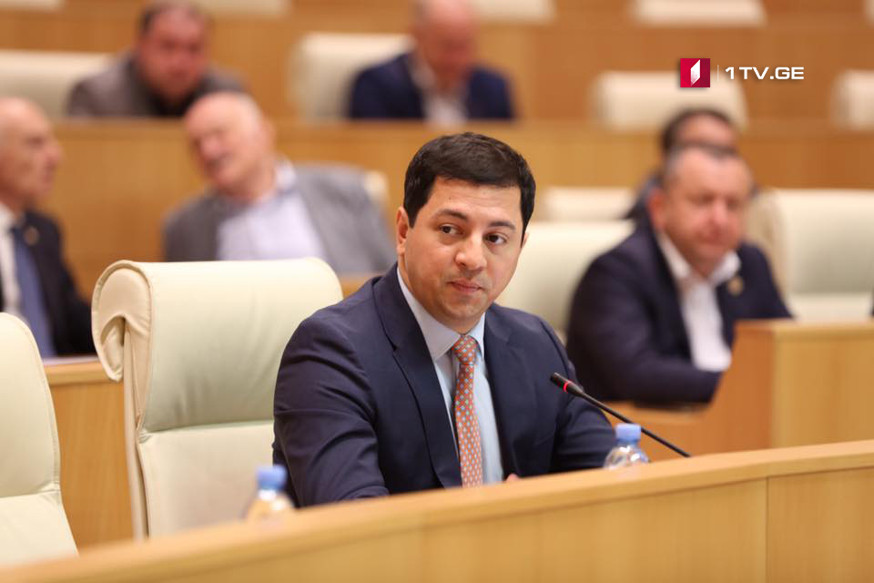 Archil Talakvadze says he expects quick investigation into secret video recording depicting lawmaker's private life