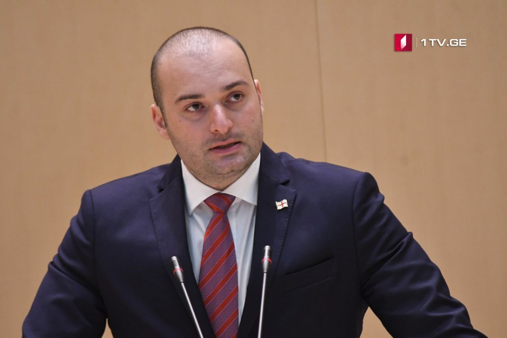 Mamuka Bakhtadze: I'm convinced that with help of international community we will start implementing peace initiative in real life