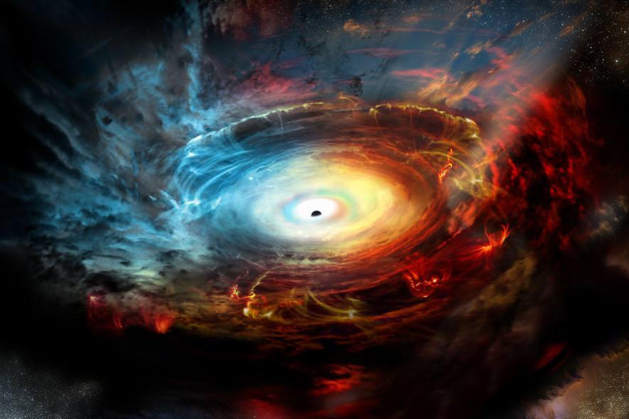 რა ხდება, როცა შავი ხვრელი ვარსკვლავს ჭამს