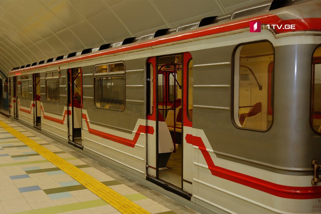 Drivers of Tbilisi Subway Trains continue protest