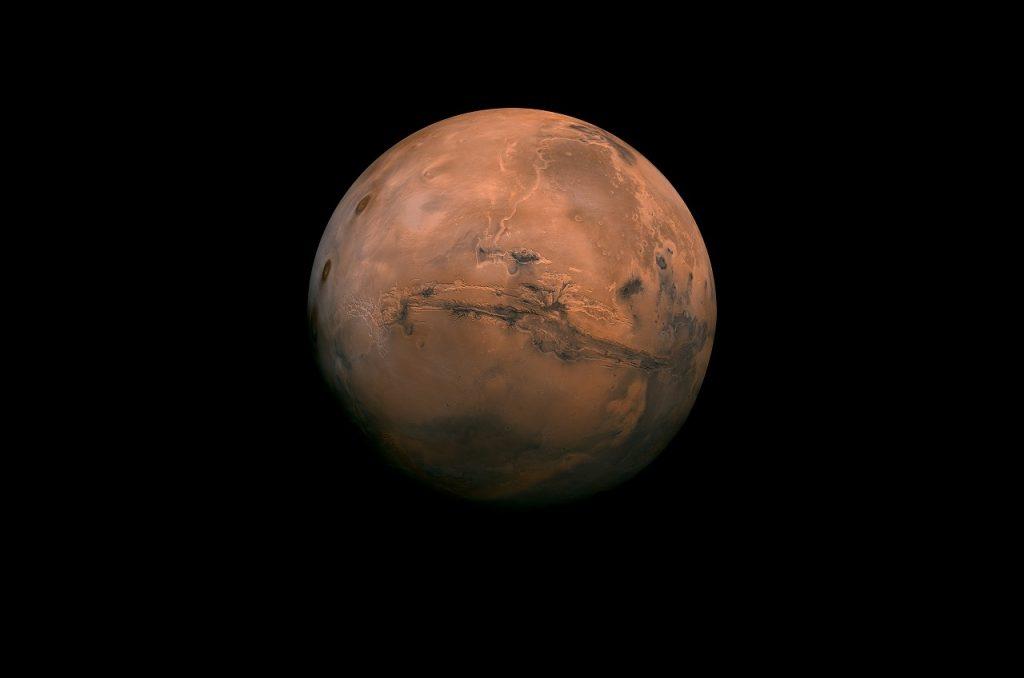 მარსი მოგვიახლოვდა - რამდენიმე დღეში, წითელი პლანეტის სიკაშკაშე მაქსიმუმს მიაღწევს