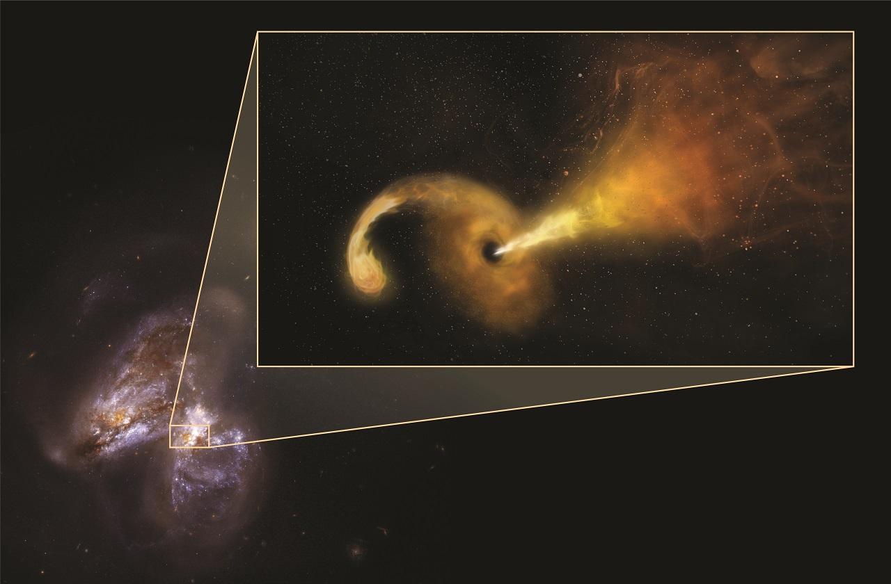 ასტრონომებმა შავი ხვრელის მიერ დაფლეთილი ვარსკვლავი გადაიღეს - პირველად ისტორიაში
