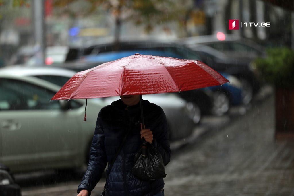 სინოპტიკოსების ინფორმაციით, საქართველოში 22-23 ივლისს ძლიერი წვიმა და სეტყვაა მოსალოდნელი