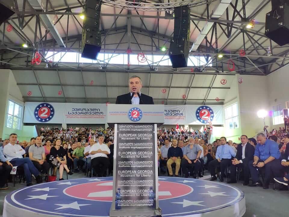 European Georgia presented Davit Bakradze as presidential candidate