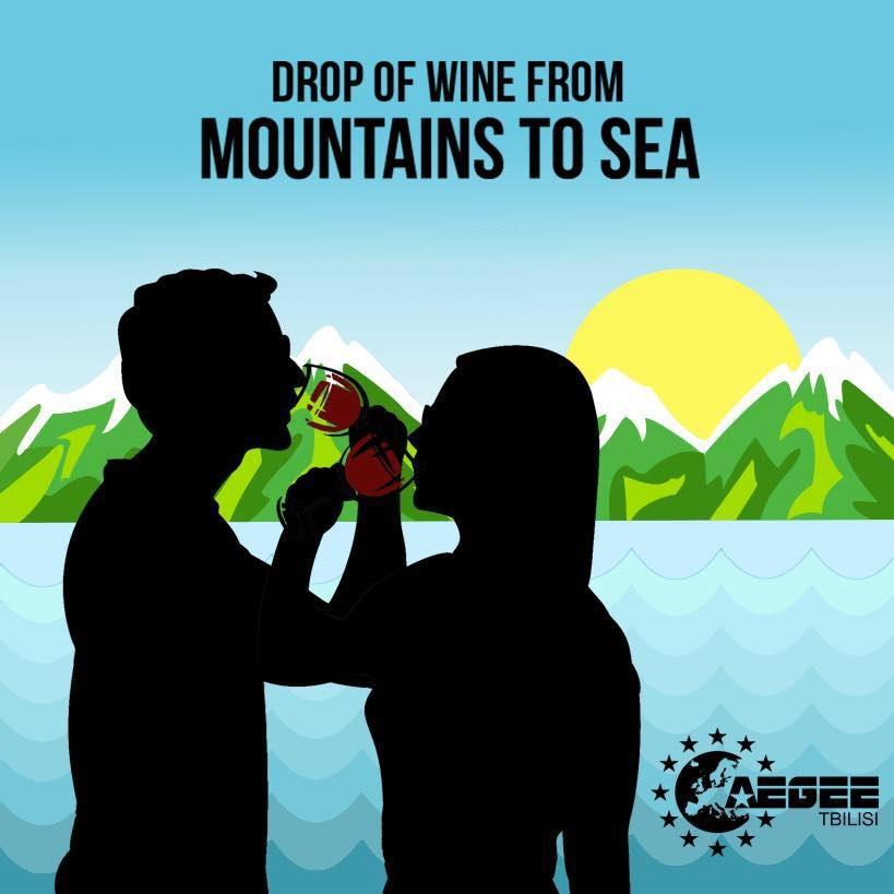 """პიკის საათი - პროექტი """"ღვინის წვეთი მთიდან ზღვისკენ"""""""