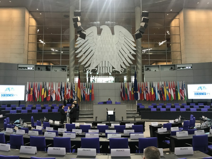 Draft resolution on Georgia to be discussed at OSCE Parliamentary Assembly